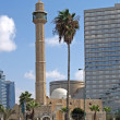 Stock Photo: Israel Mosque Hasan-beat in Tel Aviv