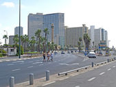 Israel. Tel Aviv View of Professor Kauffman Street — Stock Photo