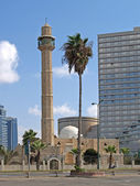 Israel Mosque Hasan-beat in Tel Aviv — Stock Photo