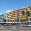 Stock Photo: Israel building with multi-colored facade in Tel Aviv