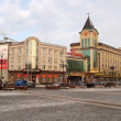 Kaliningrad. Buildings on Pobedy Square — Stock Photo #21257749