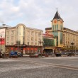 Stock Photo: Kaliningrad. Buildings on Pobedy Square