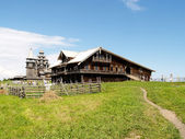 Karelia, Kizhi Wooden house of the peasant — Stock Photo