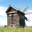 Karelia, Kizhi  Old windmill — Stock Photo