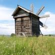 Stock Photo: Karelia, Kizhi Old windmill