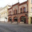 Foto Stock: Lithuania. Tiltu Street in Klaipeda
