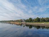 Petrozavodsk. Lake Onega Embankment — Stock Photo