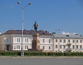Petrozavodsk. Monument to Kirov — Stock Photo