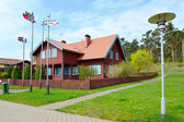 Lodge of the fisherman in Nida, Lithuania — Stock Photo