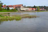 Lithuania. Nida's type from the Curonian Bay — Stock Photo