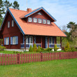 Stock Photo: Rural house in Nida, Lithuania