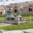 Stock Photo: Bells in territory of Solovki monastery, Russia