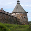 Arkhangelsk tower of the Solovki monastery, Russia — Stockfoto