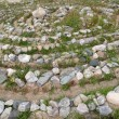 Stock Photo: Stone labyrinth on Big Solovki island, Russia