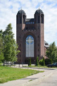 Kaliningrad, Russia. Krestovozdvizhensky cathedral (the former c — Stock Photo