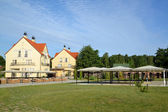 Guest houses in the Kaliningrad region, Russia — Stockfoto