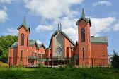 "Kaliningrad. Evangelic and Lutheran church ""Jesus Christ's Reviv — Stock Photo"