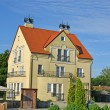 Stock Photo: Guest house in settlement Fishing Kaliningrad region