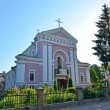 Stock Photo: Berdichev, Ukraine. Sacred Varvara's church, place of wedding of