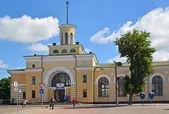 The railway station in the city of Berdichev, Ukraine — Stock Photo