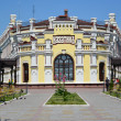 The railway station at Kazatin's station, Ukraine — Stock Photo
