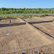 Stock Photo: Archeological excavations in Kaliningrad region, Russia