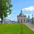 Stock Photo: Rybinsk. Sacred Nikolay Chudotvortsa's chapel