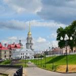 Rybinsk. View of Volzhskaya Embankment — Stock Photo