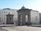 St. Petersburg. Lomonosovsky Bridge through the Fontanka River — Stock Photo