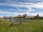 View of the Spaso-Preobrazhensky Solovki monastery — Stok fotoğraf