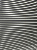 Gray horizontal blinds, background — Foto Stock