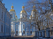St. Petersburg. Nikolsky sea cathedral — Stock fotografie