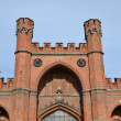 Kaliningrad. Rossgarten Gates, bottom view — Stockfoto #41141239