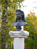 Bust of the queen Louise in the city of Zelenogradsk of the Kali — Stock Photo