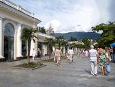 Crimea. terraplén de yalta — Foto de Stock