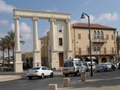 Townscape of Yaffo, Israel — Stock Photo