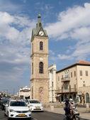 Hamid's clock three-storied tower. Yaffo, Israel — Stock Photo