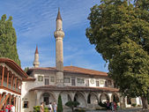 Bakhchisarai. View of the Big hansky mosque — Stock Photo