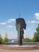 "Odessa. Monument ""To the lost seamen and the ships"" — Stock Photo"