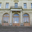 Fragment of a facade of the Big Gatchina palace — Stock Photo #51523081