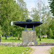 Monument to the first Russian submarine of a design of S. K. Dzh — Stock Photo #51525225