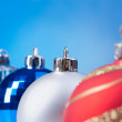 Four christmas balls — Stock Photo #13855469