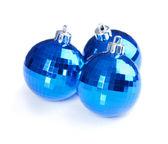 Christmas balls isolated on white background — Stock Photo
