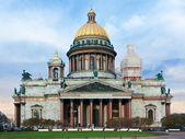 Saint Isaac's Cathedral in Saint-Petersburg — Stock Photo