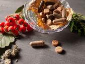 Natural vitamins — Stock Photo