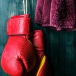 Постер, плакат: Boxing gloves
