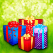 Gift boxes — Stock Photo #33608373