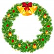 Christmas wreath — Stock Vector #33767309