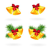 Christmas bells — Stockvector