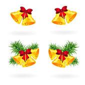 Christmas bells — Stock vektor